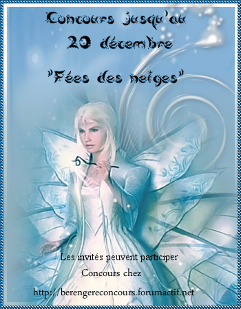 """Concours """"fees des neiges"""" Feesdesneiges"""